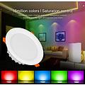 Milight / MiBoxer 18 Watt RGB+CCT LED Downlight FUT065