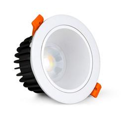 12 Watt Anti-Glare RGB+CCT LED Downlight FUT071