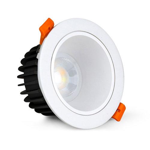 Milight / MiBoxer 12 Watt Anti-Glare RGB+CCT LED Downlight FUT071