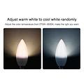 Milight / MiBoxer 4 Watt E14 RGB+CCT Kaarslamp FUT108