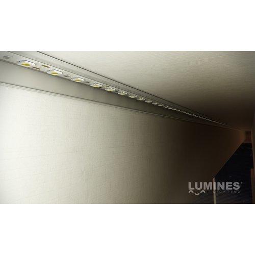 Lumines Opbouw profiel F 1 meter voor indirecte verlichting