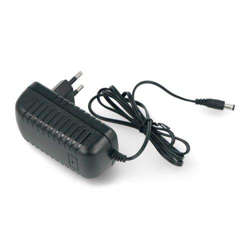 MWPower 24 Volt DC 1 ampère LED Stroomadapter 24 Watt