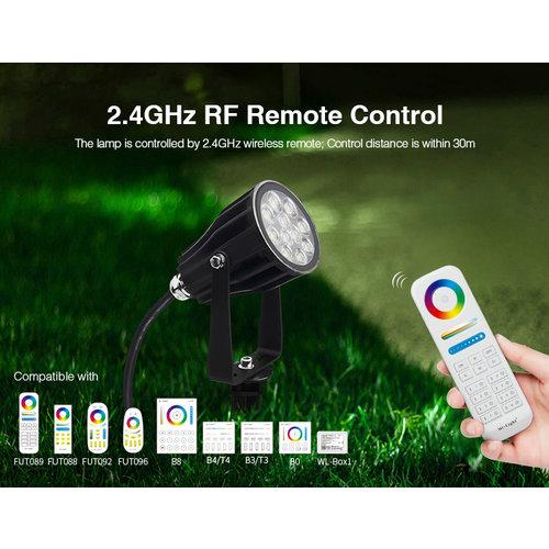 Milight / MiBoxer 6 Watt 24 Volt RGB+CCT Tuinspot FUTC08