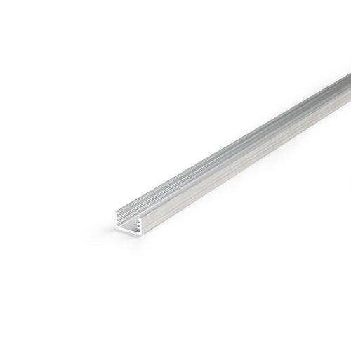 TOPMET Aluminium opbouw profiel SLIM voor 8mm strips 2 meter Slim8