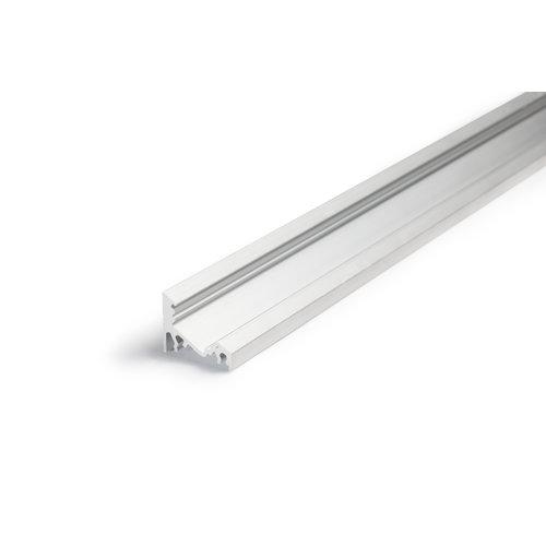 TOPMET Aluminium hoek profiel 2 meter 60/30 graden Corner10