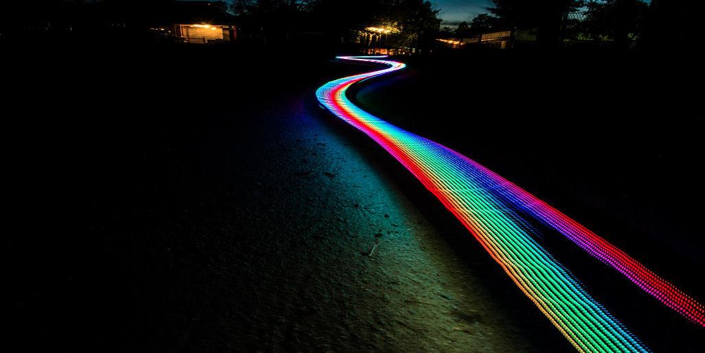 RGBW LEDStrip aansluiten