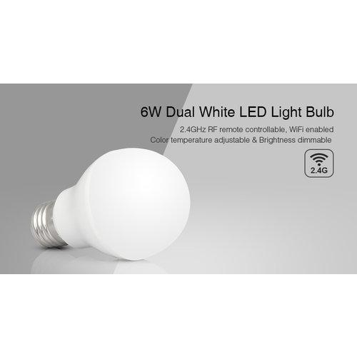 Milight / MiBoxer Dual White 6 Watt LED Lamp E27 FUT017