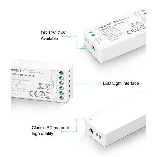 Milight / MiBoxer RGBW LEDStrip Zone Controller Slimline