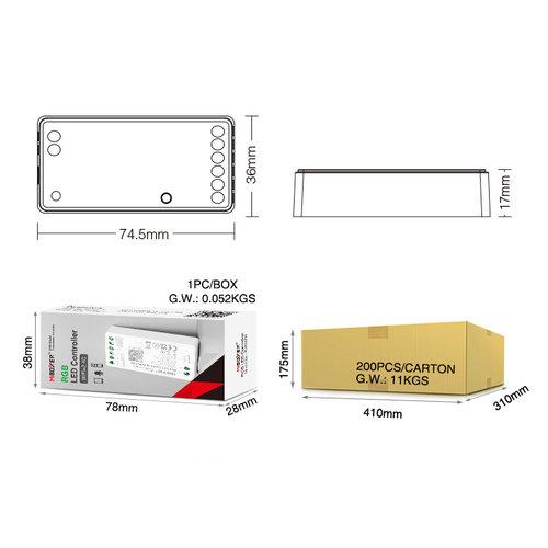 Milight / MiBoxer RGB LEDStrip Zone Controller WiFi + Bluetooth + 2.4 GHz