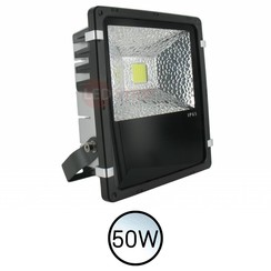 Design LED Bouwlamp Wit 50W