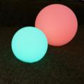 LED Decoratie Bol RGB 20cm Oplaadbaar met afstandsbediening