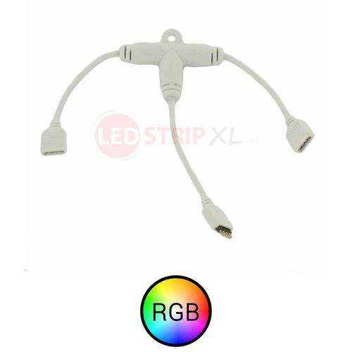 Splitter kabel voor RGB LED strips van 1 naar 2