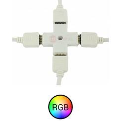 RGB LEDstrip 4 splitter koppelstuk
