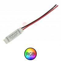 Mini versterker voor RGB ledstrips 12-24V
