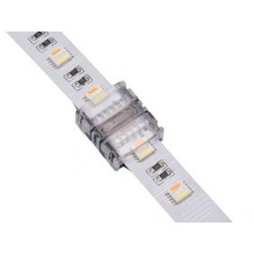 LEDStrip Koppelstuk Soldeervrij RGB+CCT IP20 voor 12mm LEDstrips