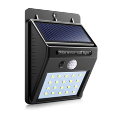 Solar LED lamp - bewegingssensor - tuinverlichting zonne-energie