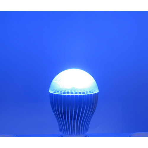 RGB 9 Watt LED 'bulb' GU10 met aluminium koelelement