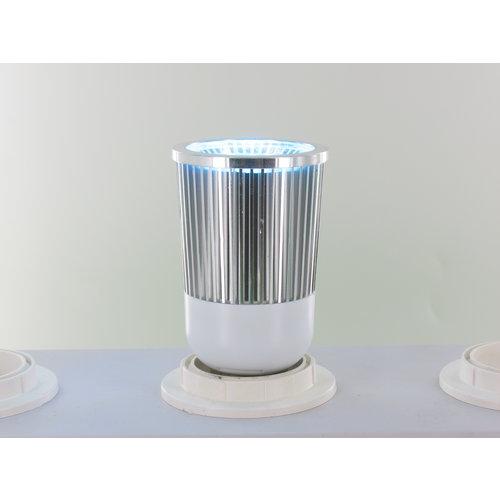 RGB 5 Watt LED Spot E27 met IR Afstandsbediening