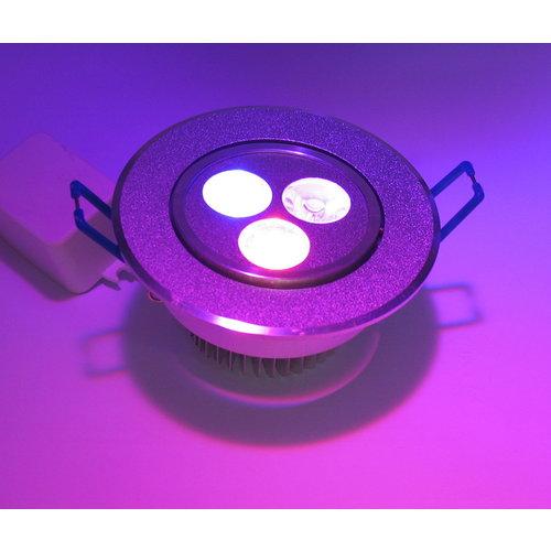 RGB 3 Watt LED Downlight