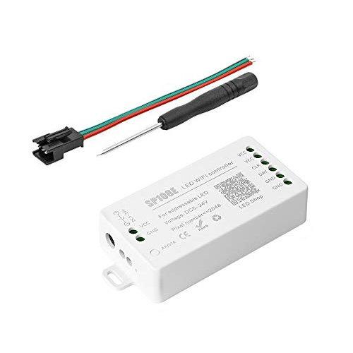 WiFi Controller SP108E voor Digitale LEDstrips WS2801, WS2811, APA102, APA105