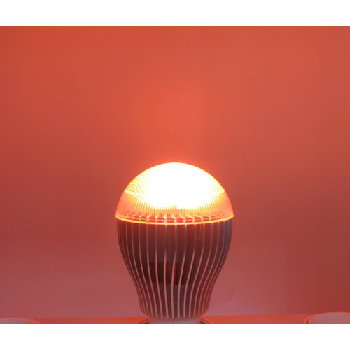 RGB 9 Watt LED 'bulb' GU10 met fade-strobo effect