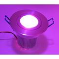 RGB 9 Watt Downlight met IR Afstandsbediening