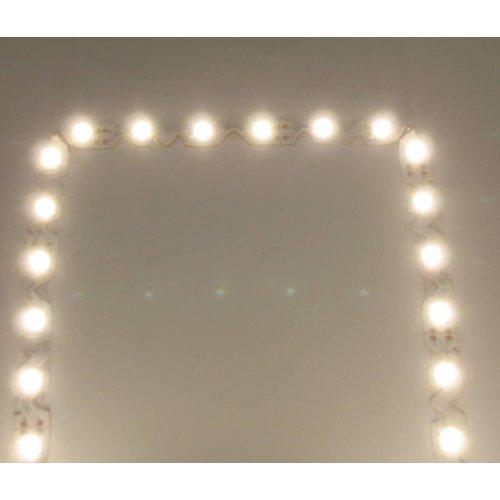 Power LEDStrip Helder Wit Buigbaar S-Shape 5 meter