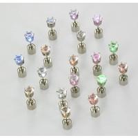LED Oorbellen set in diverse kleuren