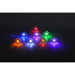 LED Oorbellen met Bloem