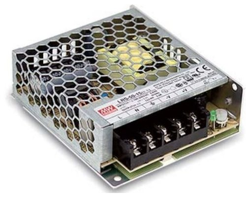 Mean Well LEDStrip Voedingsadapter 24 Volt 2.2 Ampere Transformator