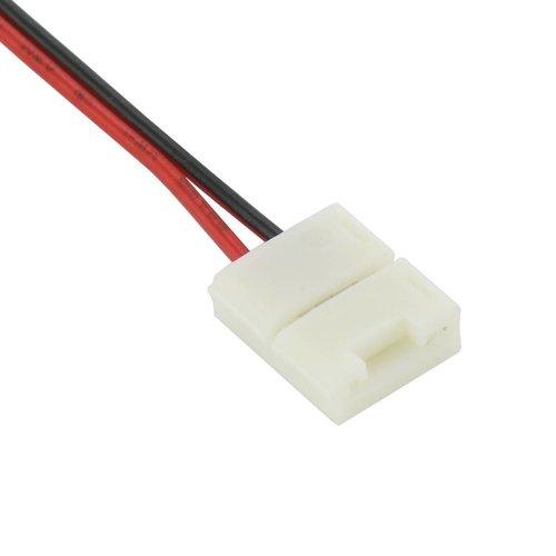 ledstrip connector koppelstuk 15cm 2-aderig, verbinden zonder te solderen