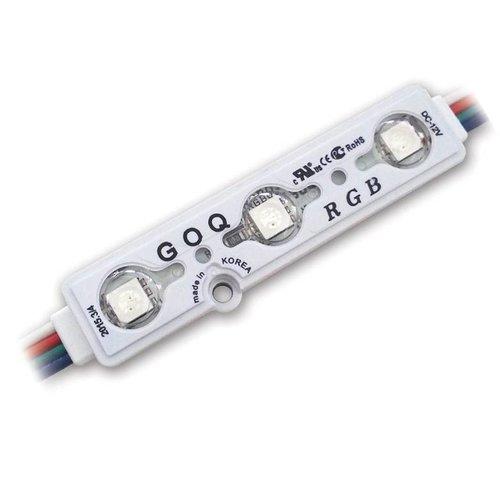 GOQ LED Module RGB 3x LED SMD5050 12 volt
