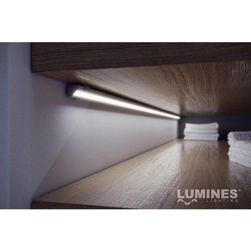 Lumines Aluminium Profiel voor hoeken 2 meter Zilver Geanodiseerd