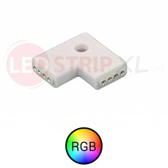 RGB LEDstrip hoek koppelstuk