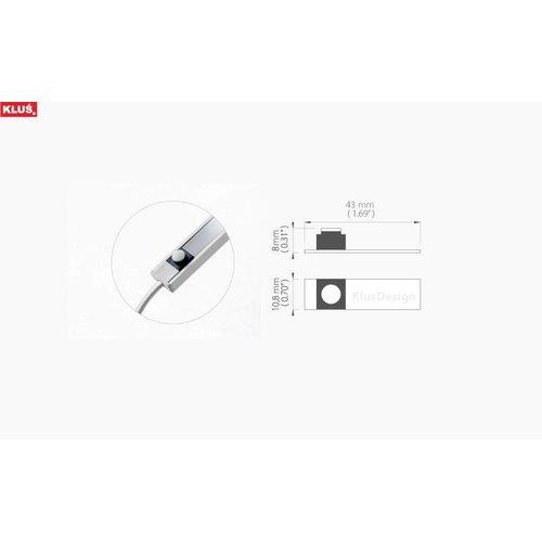 KLUŚ Design Schakelaar voor Profielen