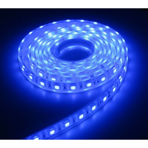 Aquarium LED Strip Extra Bright Blauw 120CM 24V