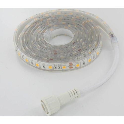 Aquarium LEDStrip Extra Bright Warm Wit 200CM 24V