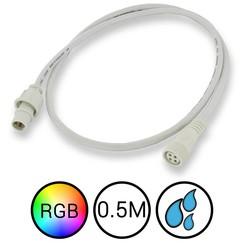 RGB Verlengkabel 50cm voor Aquarium LED Strips