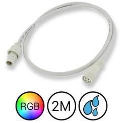 RGB Verlengkabel 200cm voor Aquarium LED Strips