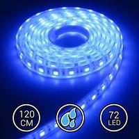 Aquarium LED Strip Extra Bright Blauw 120CM 24V