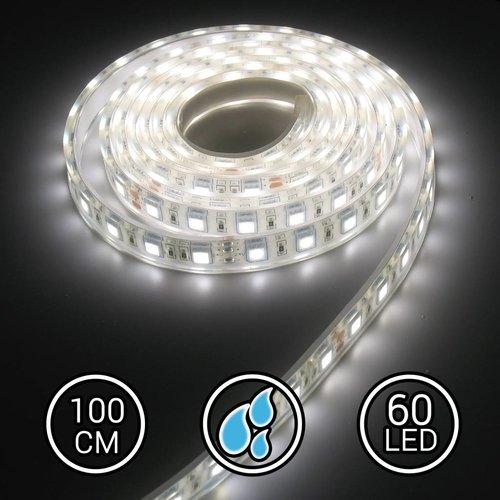 Aquarium LED Strip Extra Bright Helder Wit 100CM 24V 6000K