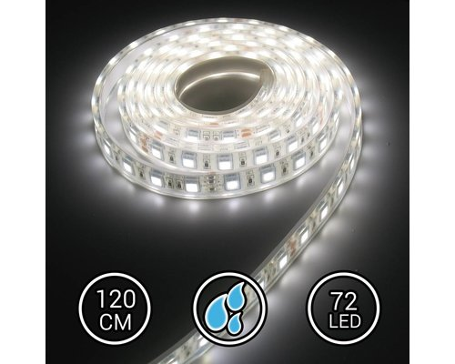 Aquarium LED Strip Extra Bright Helder Wit 120CM 24V 6000K