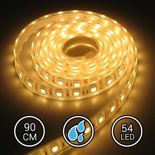 Aquarium LED Strip Extra Bright Warm Wit 90CM 24V