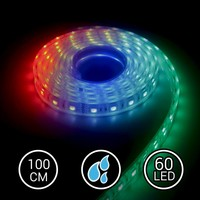 Aquarium LED Strip RGB 100CM Multi-Kleur 24V