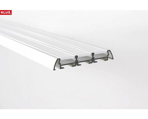 KLUŚ Design Aluminium Profiel 1 meter voor 3 LED Strips 'Triada'
