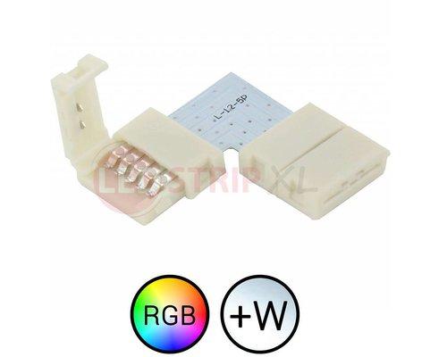 RGBW LED Strip klik koppelstuk soldeervrij voor hoeken