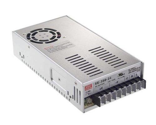 Mean Well LEDStrip Transformator 24 Volt 14.6 Ampère 350W