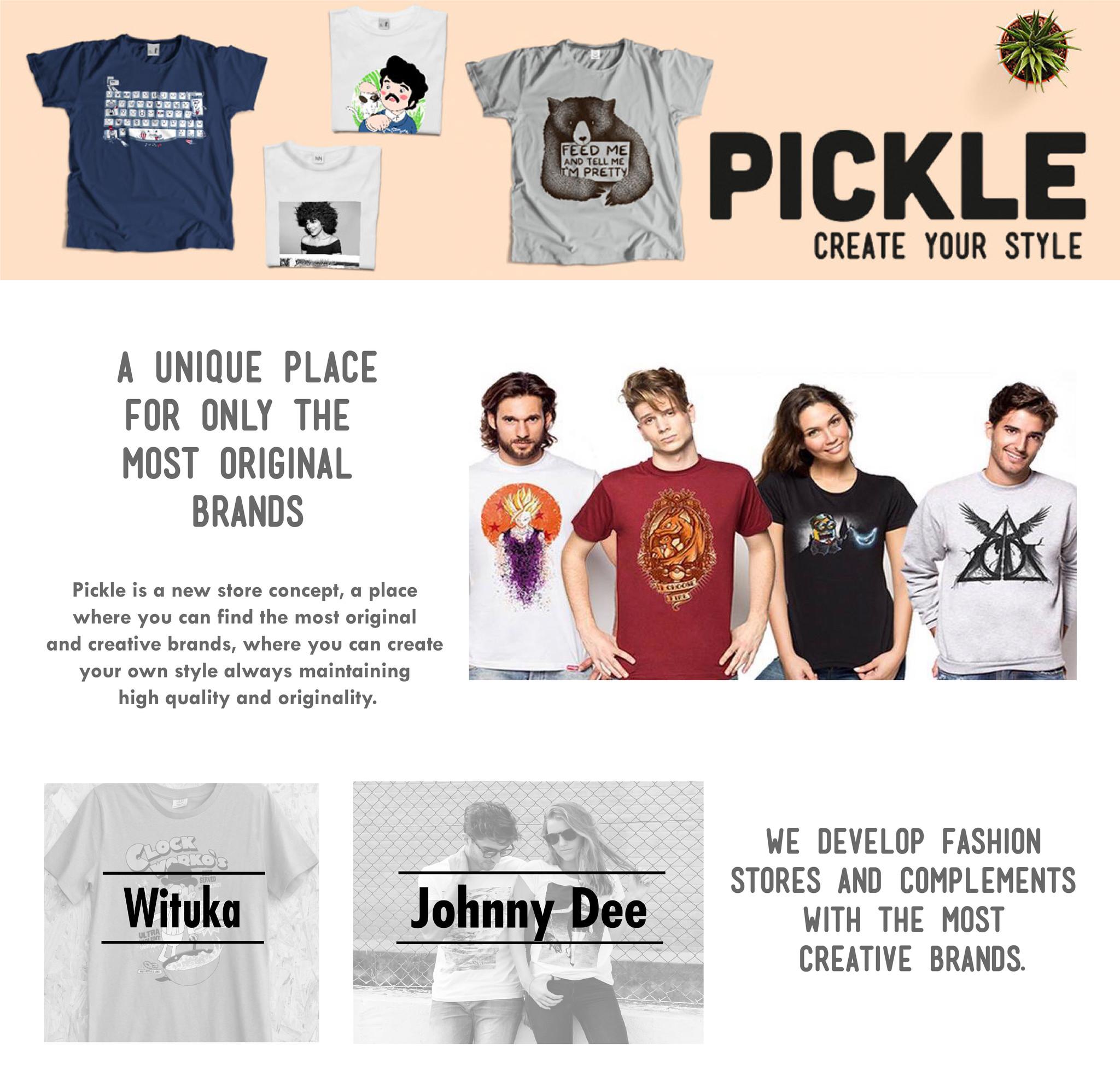 ABOUT US | PickleStore fr | La marque qui habille les T-shirts