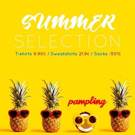 PAMPLING Summer Sale Selection T-shirt