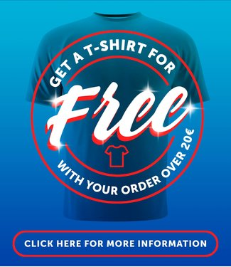 PAMPLING Free tee for orders over €20,-